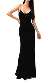 Vivicastle Women's USA Sexy Minimalist Backless Open Back Rayon Long Maxi Dress - My look - $29.99