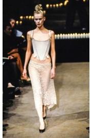 White corset - Pasarela -