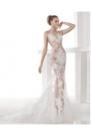 White Lace Wedding Dress - My look -