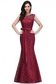 Women Lace Mermaid Evening Dresses for Wedding Cocktail Party Babyonline - Моя внешность - $69.99  ~ 60.11€