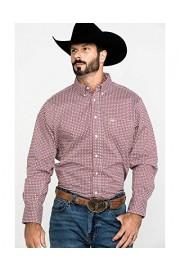Wrangler Men's 20X Performance Geo Print Long Sleeve Western Shirt - Mpc123m - My look - $60.94