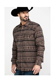 Wrangler Men's Retro Premium Aztec Print Long Sleeve Western Shirt - Mvr484t - My look - $56.00
