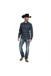 Wrangler Retro Premium Shirt, Navy/Black - My look - $56.00