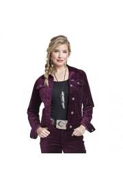 Wrangler Western Fashion Denim Jacket, Potent Purple - Mój wygląd - $82.00  ~ 70.43€