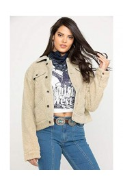 Wrangler Women's Cayden Sherpa Jacket - Lwj60cn - My look - $87.54