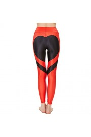 Yoga Capris, Idingding Womens's High Waist Heart Patchwork Fitness Running Yoga Pants Leggings - Il mio sguardo - $25.99  ~ 22.32€