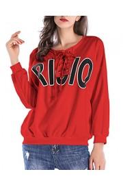 ZAFUL Women Hoodie Sweatshirt Long Sleeve Casual Pullover Tops Loose Crop Top - My look - $15.99