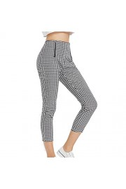 ZAFUL Womens Pants Casual Straight Leg High Waisted Cropped Ankle Comfortable Work Pants - My look - $20.99
