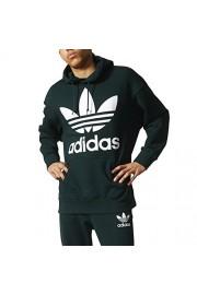 adidas Originals Men's Athletic Casual Fashion Pull Over Hoodie Green/White bq1871 - Mój wygląd - $54.95  ~ 47.20€