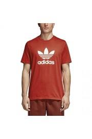 adidas Originals Trefoil Men's Athletic Casual Fashion T-Shirt Red/White cx1895 - Mój wygląd - $34.95  ~ 30.02€
