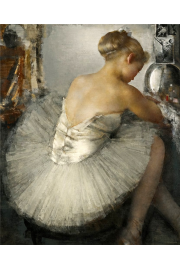 ballerina illustration - Moje fotografie -