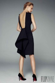 black dress 2 - ファッションショー -