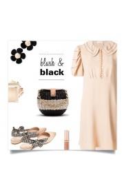 Blush, Black, Chloe - Moj look -