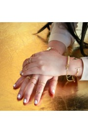fashion, rings, jewelry, gold - My look - $36.00
