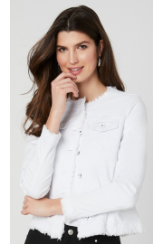 frayed denim jacket - Моя внешность -