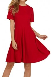 iconic luxe Women's Fit and Flare Paneled Dress - Il mio sguardo - $57.00  ~ 48.96€