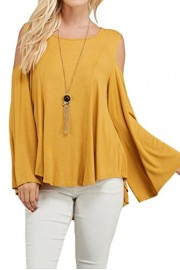 iconic luxe Women's Fly Away Sleeve Top - Il mio sguardo - $52.00  ~ 44.66€