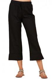 iconic luxe Women's Linen Culotte Pants - Il mio sguardo - $43.00  ~ 36.93€