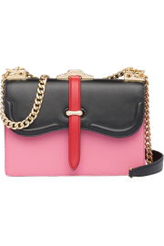 prada belle leather shoulder bag - My look -