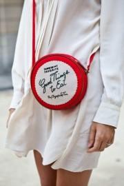 Red-round-purse - Mi look -