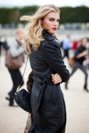 street style - leather  - My look -