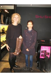 Avrilll with Shu Shu prize - My photos -