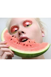 watermelon makeup - My look -