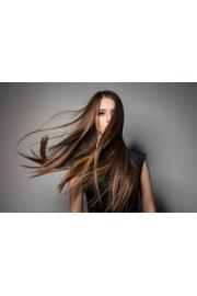 windy hair girl brown hair - My look -