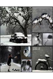 winter moodboard - Mie foto -