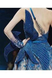 ziadnakad blue gown - Laufsteg -