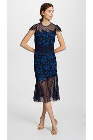 midi dress, women, trends