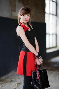 Tunic (Black and Red)