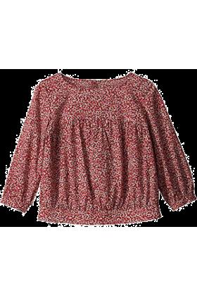 MACKINTOSH PHILOSOPHY Long sleeves shirts -  マッキントッシュ フィロソフィー幾何柄プリント ブラウス