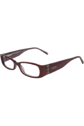 COACH Eyeglasses -  COACH ILEANA 2017 Eyeglasses (610) Cranberry