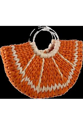 kate spade NEW YORK Bag -  Kate Spade With A Twist Orange Slice Tote