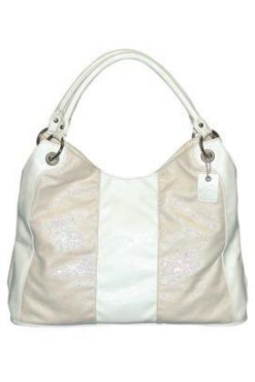 Buxton Hand bag -  B-Collective Handbags by Buxton 10HB061.WH Hobo- White