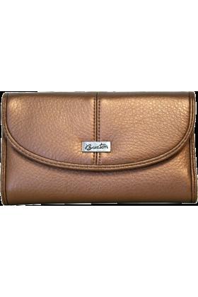 Buxton Clutch bags -  Bronze Buxton Metallic Organizer Clutch Wallet