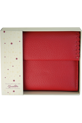 Buxton Wallets -  Buxton Heiress Ladies Cardex Red
