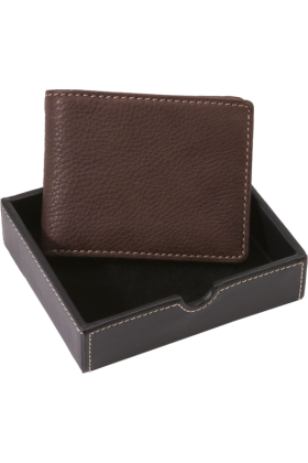 Buxton Wallets -  Buxton Metropolis Credit Card Billfold Brown