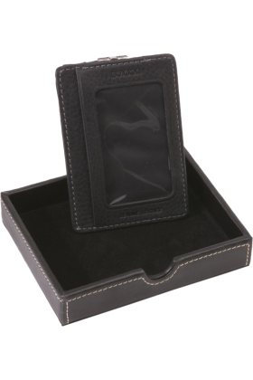 Buxton Wallets -  Buxton Metropolis Front Pocket Wallet Black