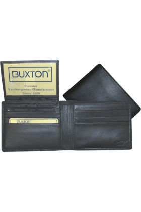 Buxton Wallets -  Buxton Mountaineer Credit Card Billfold Black