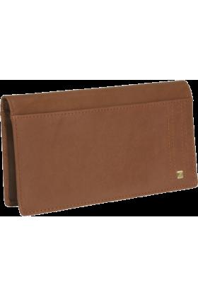 Buxton Wallets -  Buxton Parkview Checkbook Wallet Tan