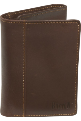 Buxton Wallets -  Buxton Sandokan Threefold Mountaineer Brown