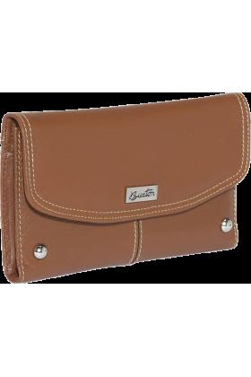 Buxton Clutch bags -  Buxton Westcott Checkbook Clutch Tan