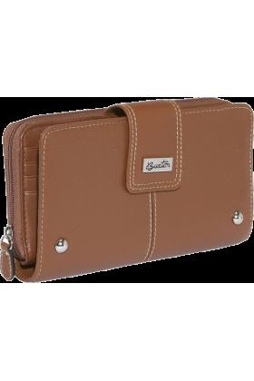 Buxton Clutch bags -  Buxton Westcott Zip Organizer Clutch Tan