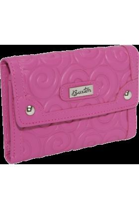Buxton Wallets -  Buxton Whimsical Swirl Pink