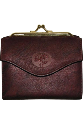 Buxton Clutch bags -  Buxton Women Heiress French Purse Burgundy