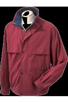 Chestnut Hill Jacket - coats -  Chestnut Hill CH850 Lodge Microfiber Jacket Merlot/New Navy