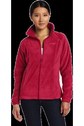 Columbia Long sleeves shirts -  Columbia Women's Benton Springs Full Zip Fleece Rouge
