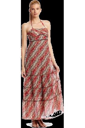 Donna Morgan Dresses -  Donna Morgan Women's Floral Halter Sundress Red multi